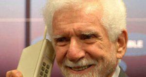 primeira ligacao de celular